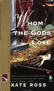 Whom the Gods Love (A Julian Kestrel Mystery).