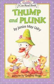 Thump and Plunk (My First I Can Read)