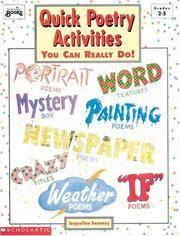 Quick Poetry Activities (Grades 2-5)