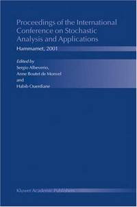 Proceedings of the International Conference on Stochastic Analysis and Applications: Hammamet, 2001