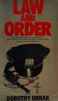 Law and Order by  Dorothy Uhnak - Hardcover - 1973 - from Folded Corner Books (SKU: 019870)