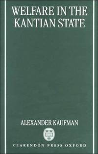 WELFARE IN THE KANTIAN STATE