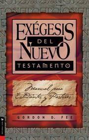 ExGesis Del Nuevo Testamento