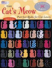 image of The Cat's Meow: Purr-fect Quilts for Cat Lovers, 10th Anniversary Special Edition