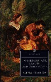 image of In Memoriam, Maud and other poems (Everyman's Library)
