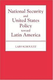 image of National Security and United States Policy Toward Latin America (Princeton Legacy Library)