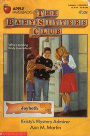 image of Kristy's Mystery Admirer (Baby-Sitters Club, No. 38)