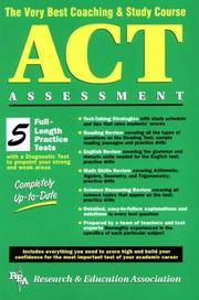 ACT Assessment (REA) - The Very Best Coaching & Study Course (SAT PSAT ACT (College...