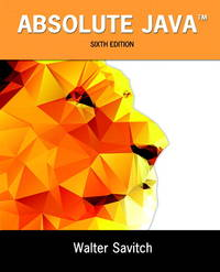 ABSOLUTE JAVA-W/ACCESS