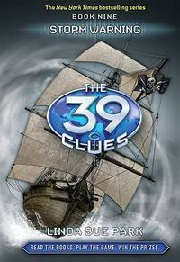The 39 Clues Book 9: Storm Warning - Library Edition (39 Clues. Special Library Edition)