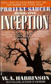 image of Inception (Projekt Saucer Book One)