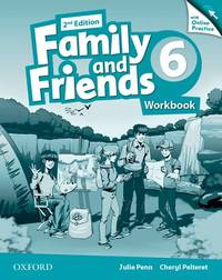 Family And Friends: Level 6: Workbook With Online Practice - Used Books