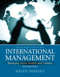 image of International Management: Managing Across Borders and Cultures, Text and Cases (7th Edition)