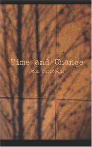 image of Time and Change