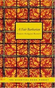 image of A Fair Barbarian