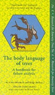 THE BODY LANGUAGE OF TREES A Handbook for Failure Analysis