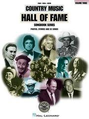 The Country Music Hall of Fame (Vol. 3) (Country Music Hall of Fame Ser., Vol. 3)