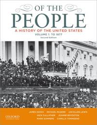 Of the People: A History of the United States, to 1877