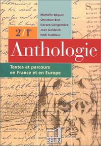 ANTHOLOGIE 2NDE / PREMIÈRE