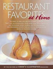 Restaurant Favorites at Home (a Best Recipe Classic)