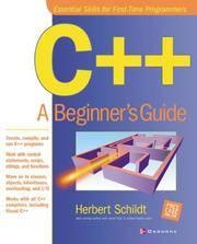 C++: A Beginner's Guide Schildt, Herbert and Schildt, Herb