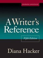 A Writer's Reference, Fifth Edition Diana Hacker