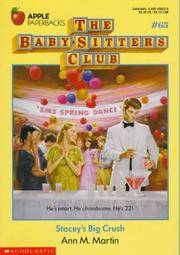 image of Stacey's Big Crush (Baby-Sitters Club)