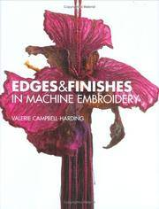 Edges and Finishes in Machine Embroidery