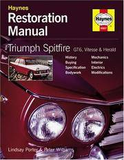 Triumph Spitfire Gt6 Vitesse and Herald Restoration Manual