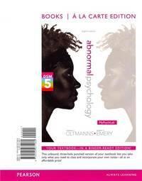ABNORMAL PSYCHOLOGY (LL)-W/MYPSYCHLAB