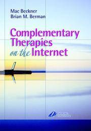 COMPLIMENTARY THERAPIES ON THE INTERNET