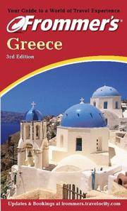 Frommer's Greece 3rd Edition