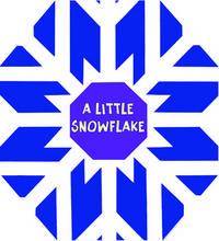 A Little Snowflake (Christmas Foil Books)