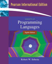 image of Concepts of Programming Languages: International Edition
