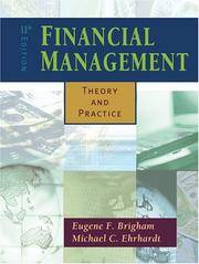 Financial management by eugene f brigham michael c ehrhardt image of financial management theory and practice with thomson one fandeluxe Image collections