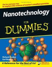 Nanotechnology For Dummies (For Dummies (Math & Science))
