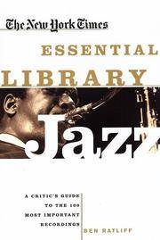 Jazz The New York Times Essential Library