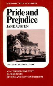 image of Pride and Prejudice (Norton Critical Editions)