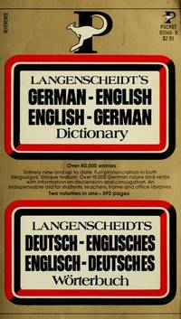 Langenscheidt's German-English English-German Dictionary / Langenscheidts Deutsch-Englisches...
