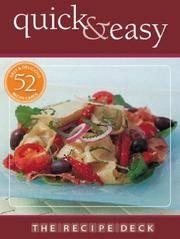 The Recipe Deck: Quick & Easy