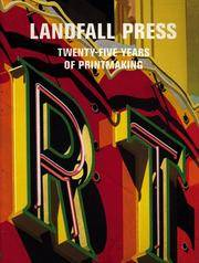 Landfall Press: Twenty-five Years of Printmaking by Joseph Ruzicka; Jack Lemon; Vernon Fisher; Mark Pascale - Paperback - 2005 - from The Battery Books & Music and Biblio.com