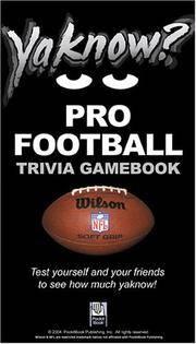 YaKnow? Pro Football Trivia