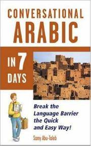 Conversational Arabic in 7 Days by Samy Abu-Taleb - Paperback - 1995 - from Cup and Chaucer Books and Biblio.com