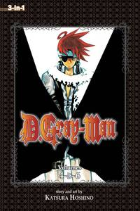 image of D.Gray-man (3-in-1 Edition), Vol. 2: Includes vols. 4, 5 & 6 (2)