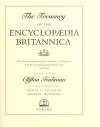 Treasury Of The Encyclopaedia Britannica, The