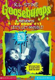 image of Let's Get Invisible! (Goosebumps Presents TV Book #11)