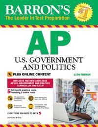 Barron's AP U.S. Government and Politics with Online Tests (Barron's Test Prep)