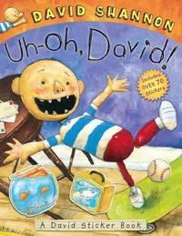 image of Uh-oh, David! Sticker Book
