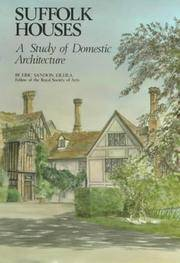 SUFFOLK HOUSES: A STUDY OF DOMESTIC ARCHITECTURE