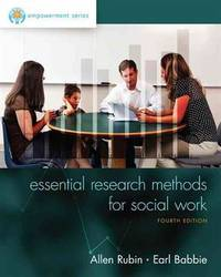 Empowerment Series: Essential Research Methods for Social Work (4th Edition)